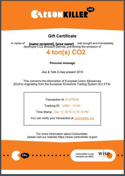 CO2 gift | Carbon Killer